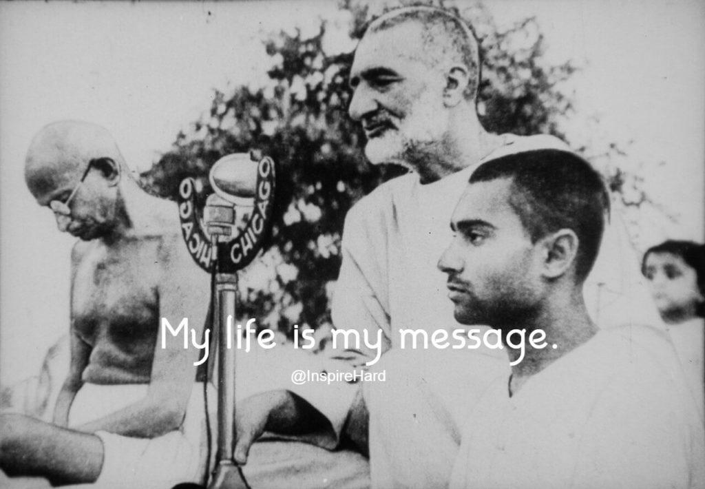 Mahatma Gandhiji Original Photo